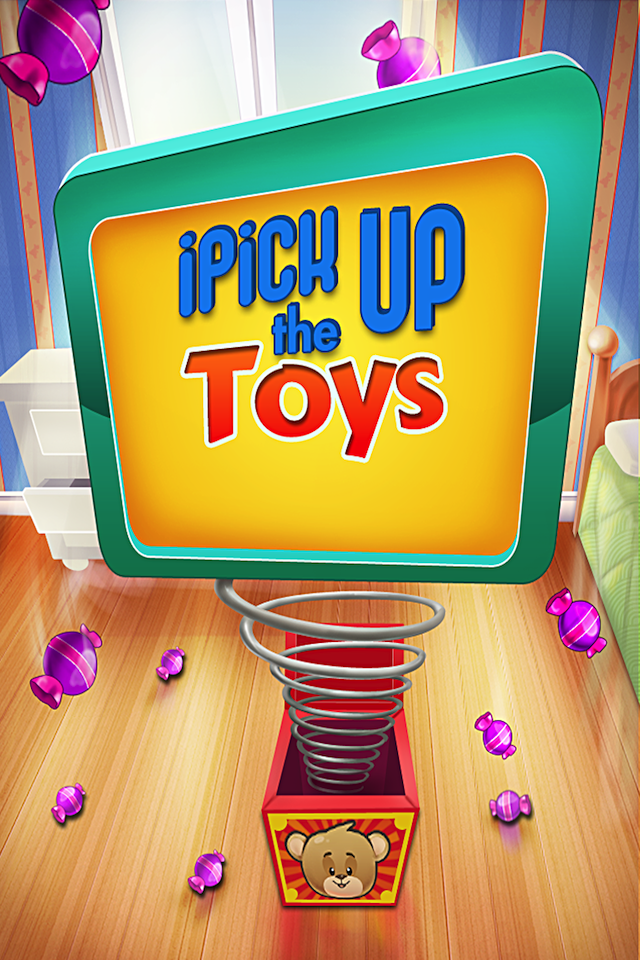 Screenshot iPick Up The Toys Lite