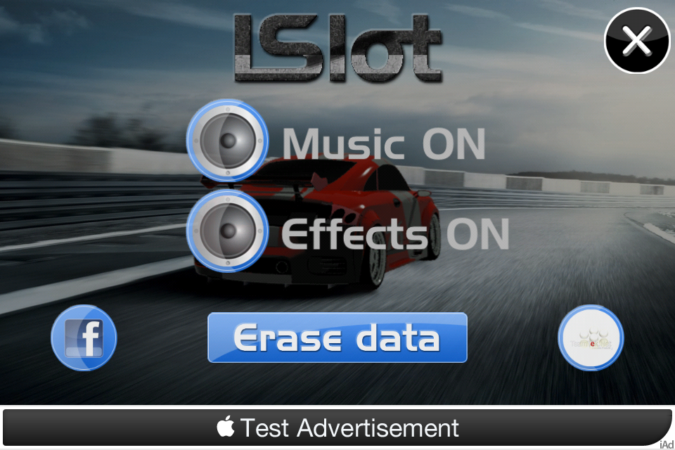 Screenshot iSlot Car Racer